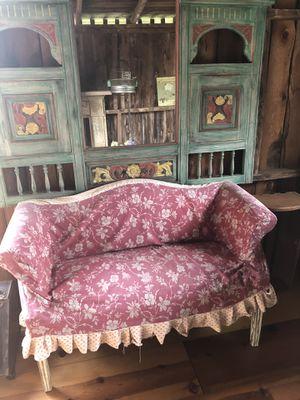 Vintage Children's Mini Couch w/ 2 Pillows for Sale in Manassas, VA