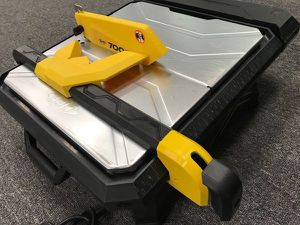 $55 each slightly used condition QEP 22700q 7 inch 700xt wet tile cutter cutting saw with table extension ceramic marble stone travertine and porcela for Sale in El Monte, CA