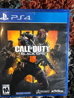 Call Of Duty BO4 (PS4) for Sale in Hayward, CA