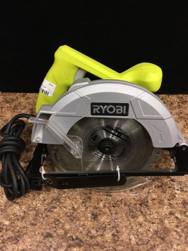 "Ryobi 13 Amp 7-1/4"" Corded Circular Saw"