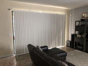 Free vertical blinds for Sale in Zephyrhills, FL