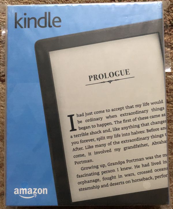 New kindle with original case