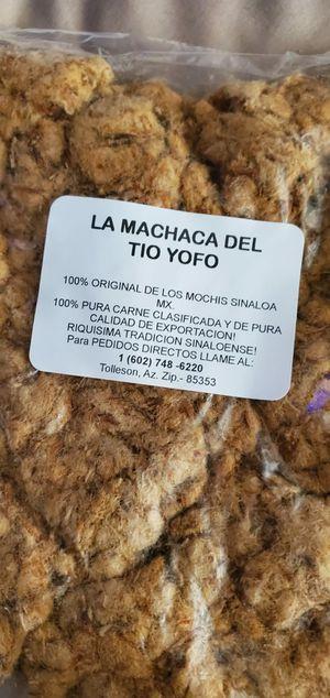 Machaca estilo Sinaloa for Sale in Tolleson, AZ