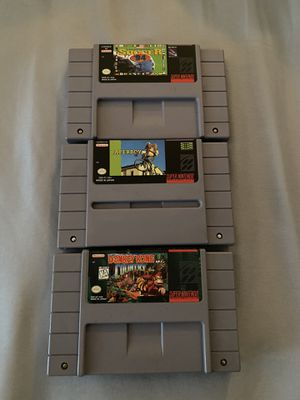 Super Nintendo games for Sale in Chula Vista, CA