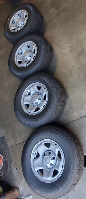2020 TACOMA PRERUNNER NEW RIMS AND TOYO TIRES 245 75 16 for Sale in Rancho Cucamonga, CA