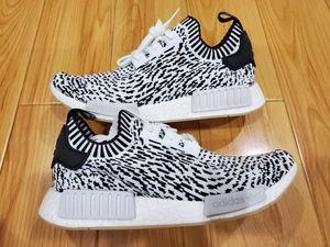 Brand New Mens Adidas NMD R1 PK size 10 Sashikoa White Black Yeezy for Sale in El Monte, CA