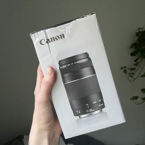 Canon 75-300mm Lens, Never Opened for Sale in San Jose, CA