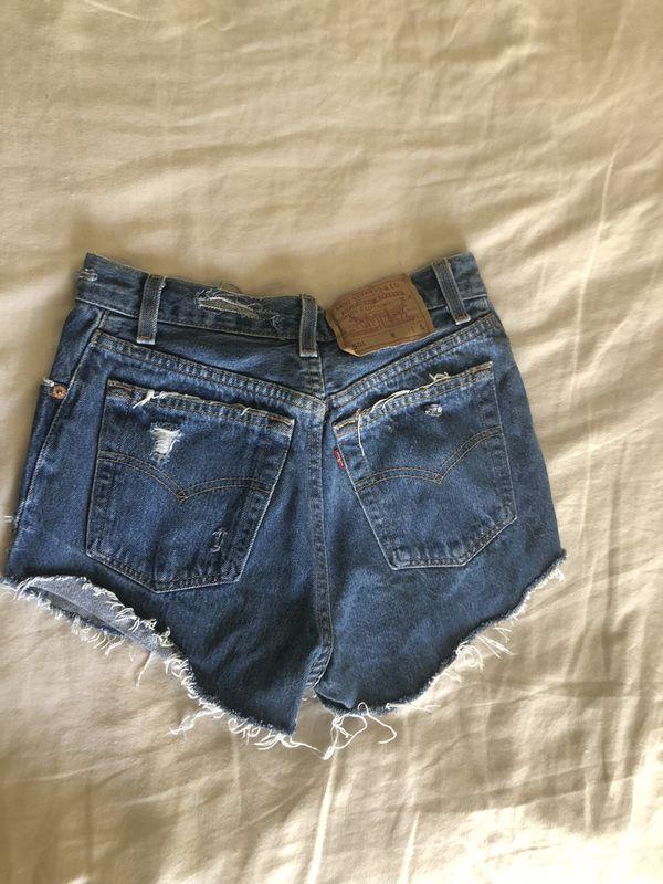 b7718b071b Authentic Levi's 501 Denim Shorts for Sale in Vista, CA - OfferUp