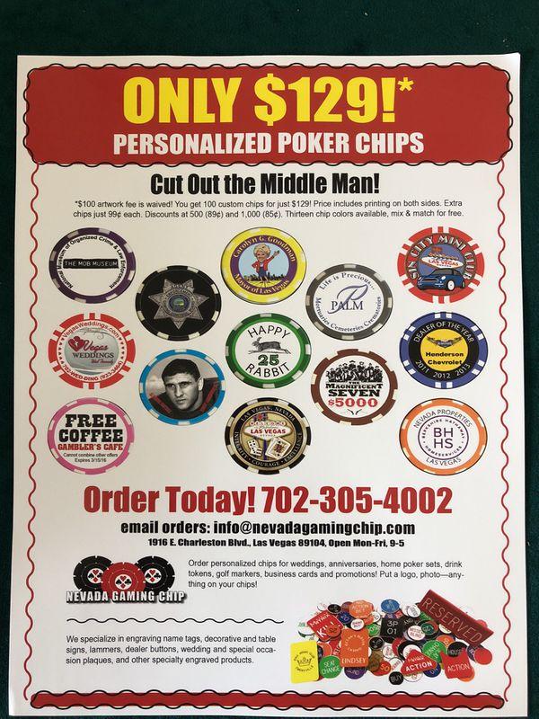 Custom poker chips !