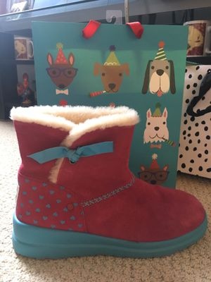 UGG BOOTS size 10 I ❤️ UGG Pink N Powder Blue, missing insoles but are LIKE NEW only used once for Sale in Arlington, VA