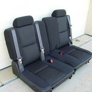Black 3rd Row Seats for Sale in Riverside, CA