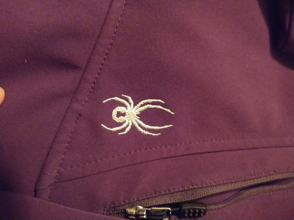 Women's Hooded Spyder Jacket - Size Small