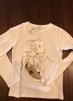 3083ce8b42572 Used authentic Gucci boys size 10 shirt for Sale in West Covina