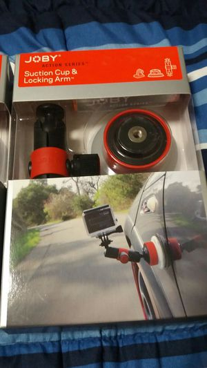 JOBY SUCTION CUP MOUNT FOR GOPRO for Sale in Nashville, TN