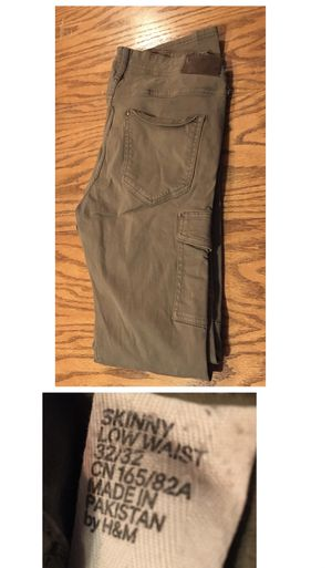 &Denim skinny low waist 32/32 olive green for Sale in Portland, OR