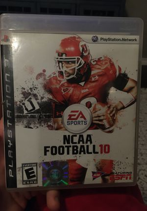NCAA football 2010 for PS3 great condition for Sale in Newcastle, OK