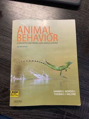 Animal behavior second edition college book used for Sale in Englewood, CO