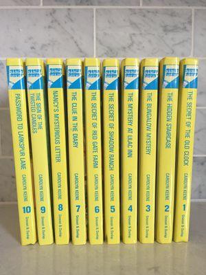 Nancy drew mystery books for Sale in Smyrna, GA