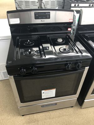 Amana Stainless steel Gas Range on sale for Sale in Peachtree Corners, GA