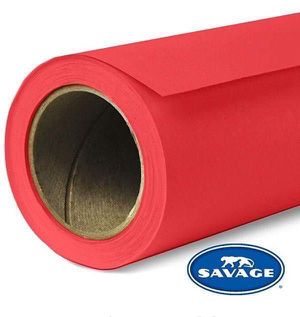 "New Savage Seamless Background Paper de fondo #8 Primary Red 107"" x 36"" for Sale in Miami, FL"