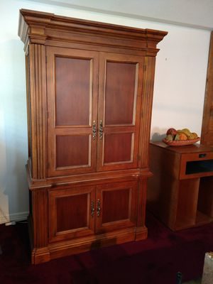 Entertainment center by Hooker for Sale in Livingston, TX