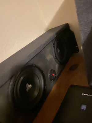 Subwoofers JL Alpine high quality for Sale in Scottsdale, AZ
