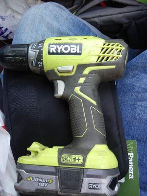 Ryobi 18V Hammer Drill with Battery for Sale in Sacramento, CA