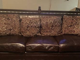 Leather Couch for Sale in Smithfield,  RI