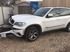 BMW X5 35i xdrive for parts only for Sale in Austin, TX