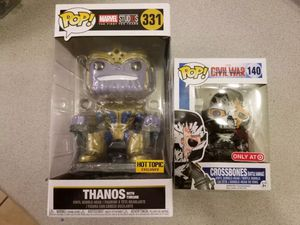 Thanos on Throne Funko Pop Exclusive Figure Vinyl Hot Toys Avengers for Sale in Las Vegas, NV