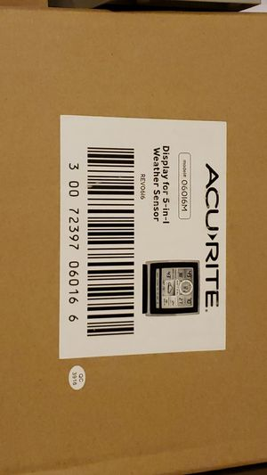 Acurite Nautical weather sensor for Sale in Lancaster, OH