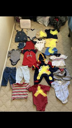 Baby Boy Clothes On Hold For Adriene (6-12M) for Sale in Bermuda Dunes, CA