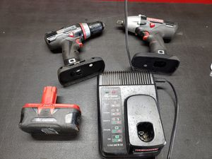 Craftsman Cordless Drill & 1/2 Cordless Impact for Sale in West Covina, CA