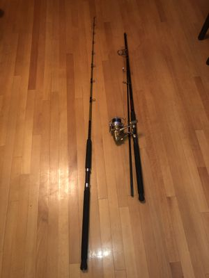 Two excellent condition fishing rod for Sale in Brooklyn, NY