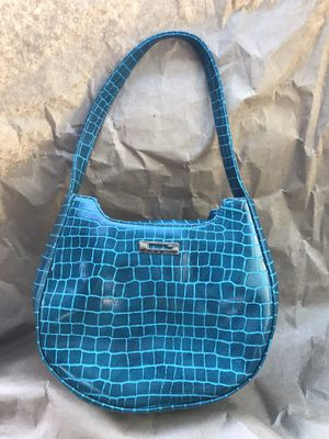 Guess blue leather purse for Sale in San Diego, CA