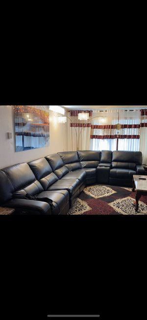 Discount today sofa rael Leather electric for Sale in Sacramento, CA