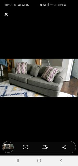 Couch and Accent Chair for SALE! Price negotiable for Sale in NEW CARROLLTN, MD