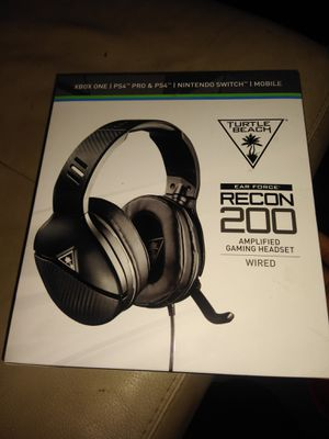 Turtle Beach Recon 200 headset for Sale in Alameda, CA