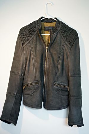 $45 Lightly Worn Wilson Leather Jacket (XL but fits like a medium-large) for Sale in Nashville, TN