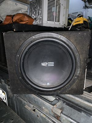 """12"""" RE Double Coil Subwoofer 🔊 (firm on price) for Sale in Fontana, CA"""