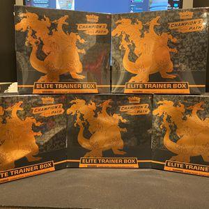 Pokemon Champions Path Elite Trainer Box for Sale in San Francisco, CA