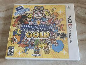 Brand New WarioWare Gold Nintendo 3DS for Sale in Wilmington, DE