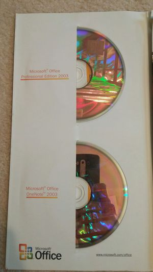MS Office/OneNote Pro edition, with product key for Sale in Payson, AZ