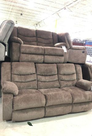 💲39 Down Payment 🍃 SPECIAL] Tulen Chocolate Reclining Living Room Set 244 for Sale in Jessup, MD