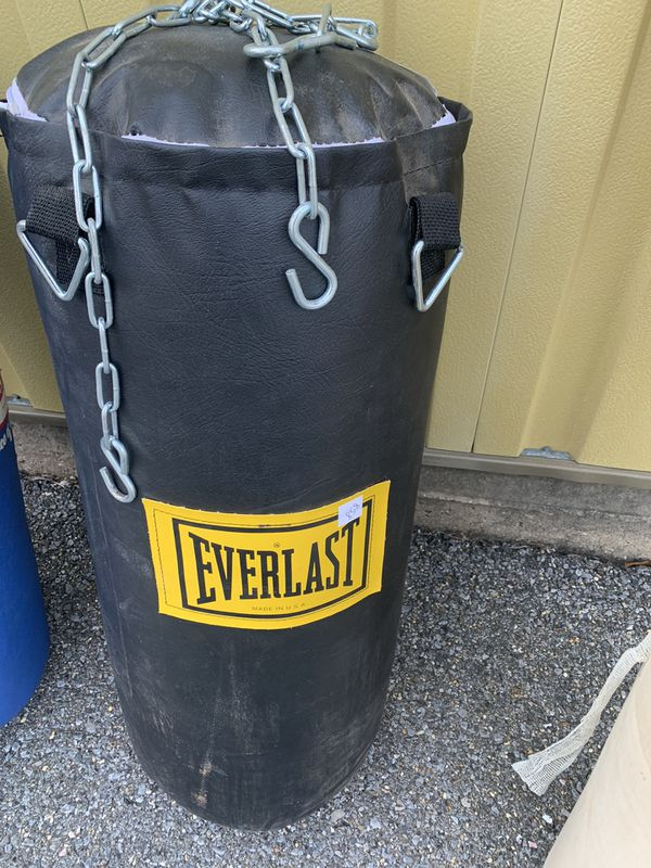 Choice of punching/heavy bags