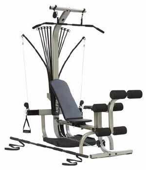 Convenient Inexpensive Home Gym For Lats Squats Curls Legs Pushups Pulldowns Rowing for Sale in Des Moines, WA