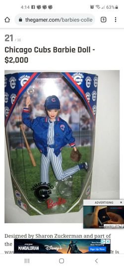 1999 Chicago Cubs Barbie Mint Condition for Sale in Concord,  CA