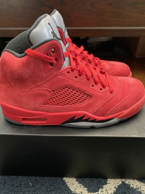 "Jordan 5 ""Red Suede"" for Sale in Redwood City, CA"