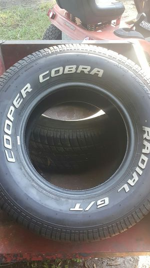 2 Cooper Cobra tires for Sale in Riverview, FL