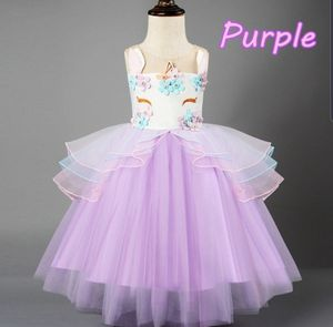 Unicorn Dress sizes PURPLE 4T/5T and 2T/3T PINK 2/3T, and 3/4T BLUE 2/3T and 4/5T for Sale in Dallas, TX